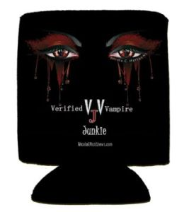 Vampire Eyes Koozie