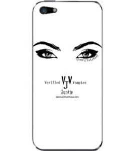 VVJ Logo BW Eyes Skin Case