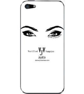 VVJ Logo BW Eyes Skin Case