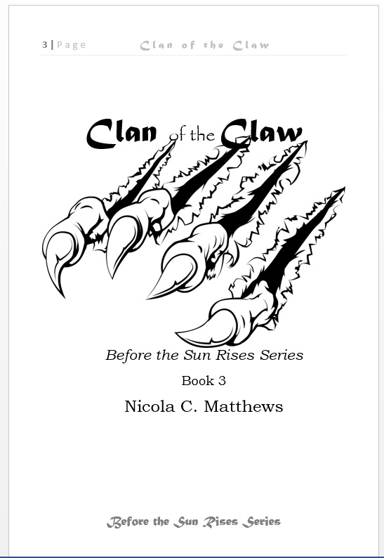 Interior Title Page